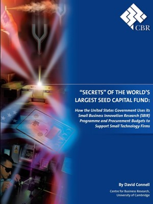 """Secrets"" of the World's Largest Seed Capital Fund"