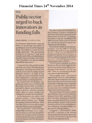 Financial Times 24th November 2014